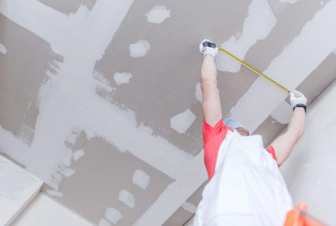Innenputzarbeiten für Wohnhaus